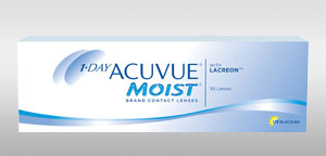 Packshot du produit 1-DAY ACUVUE® MOIST®